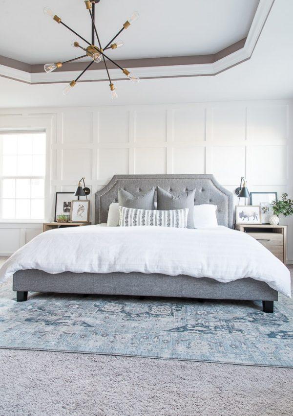 Modern Classic Master Bedroom Reveal