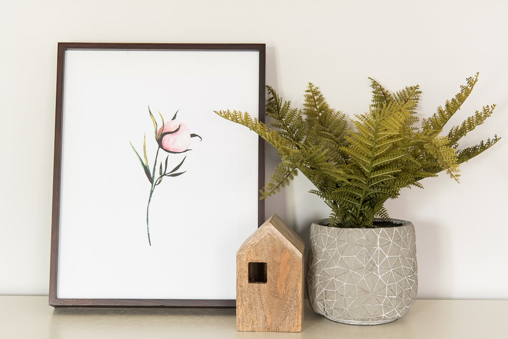 Bring the beauty of summer indoors with this free watercolor florals printable art set. Download all 4 now and print them out to use as wall decor.