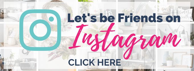 let's be friends on instagram