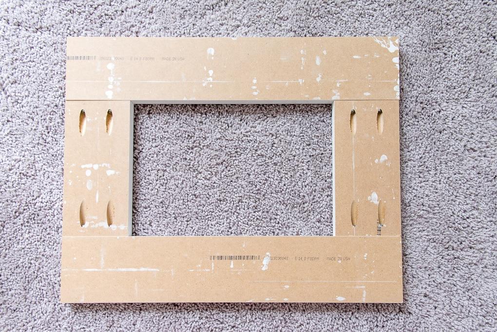 kreg jig pocket holes wooden frame for the base of an ikea sektion cabinet