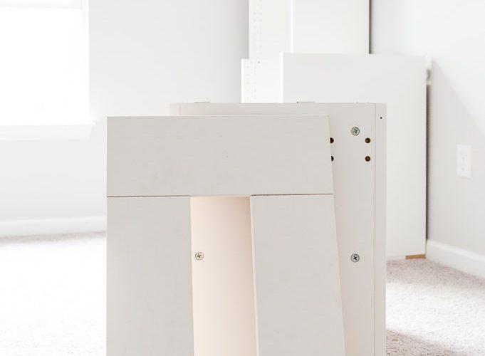 ikea sektion cabinet building base white