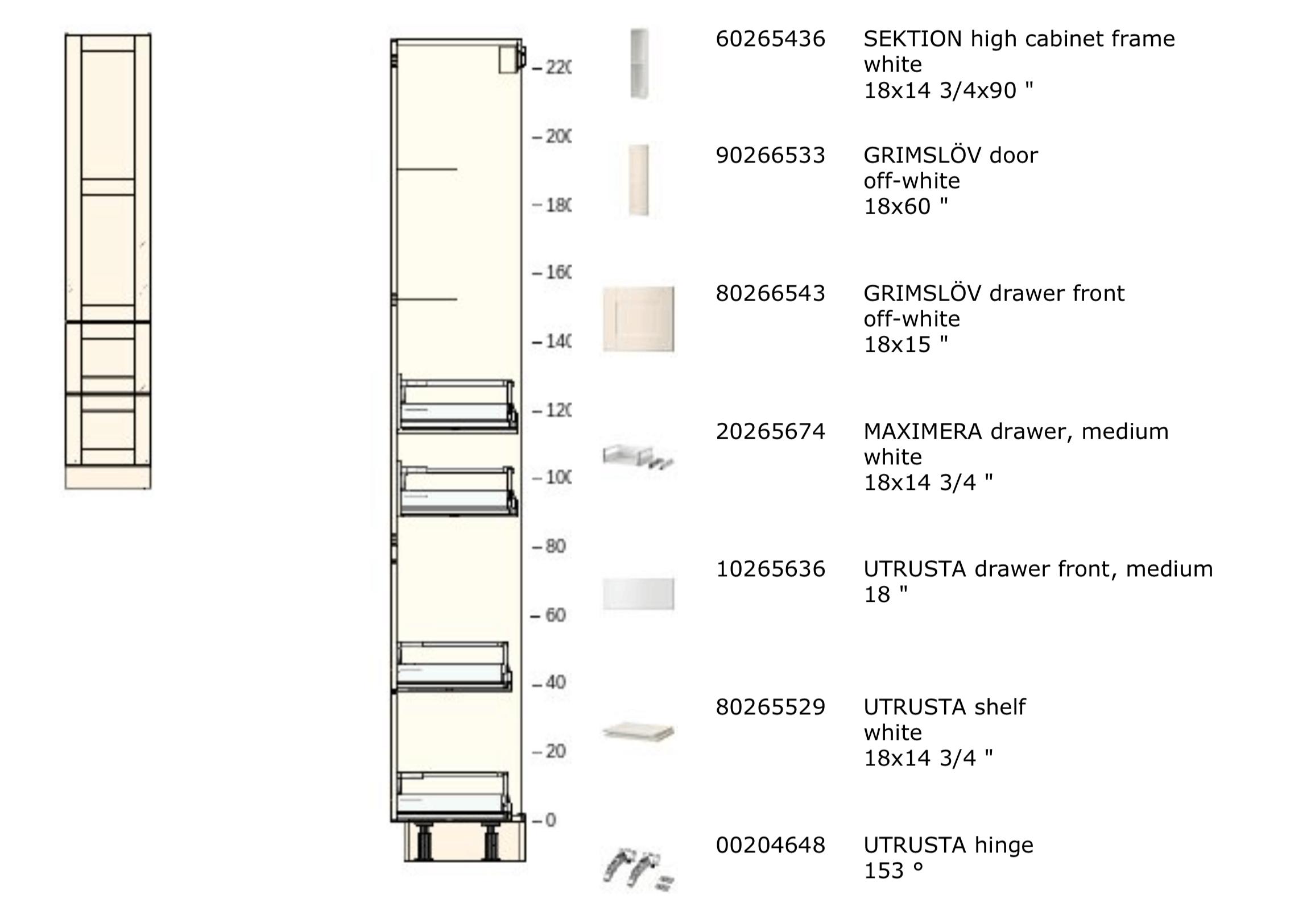 ikea sektion cabinet desk design mockup parts list large cabinet