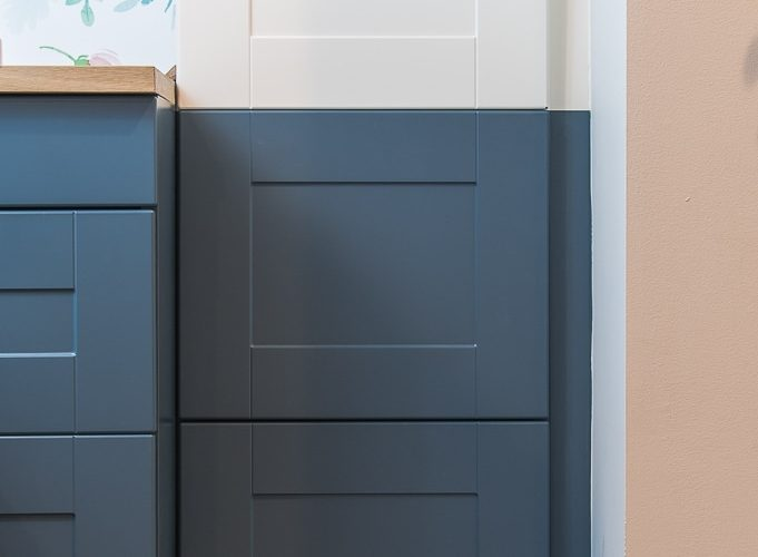How To Paint Ikea Sektion Cabinets One Room Challenge Week 4 Christene Holder