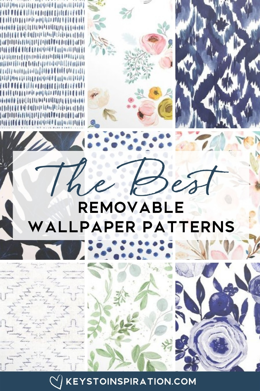 removable wallpaper patterns modern from spoonflower