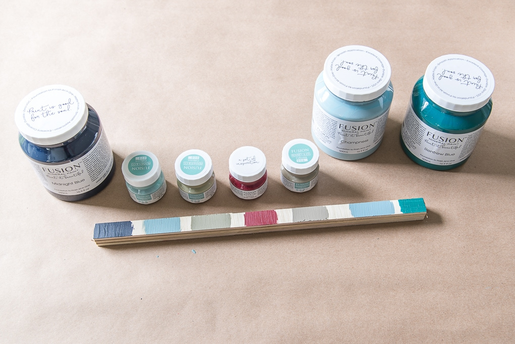 fusion mineral paint swatches