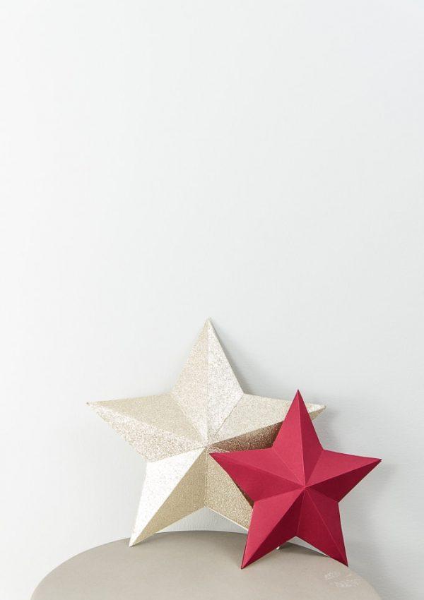 Easy 3D Star Decoration