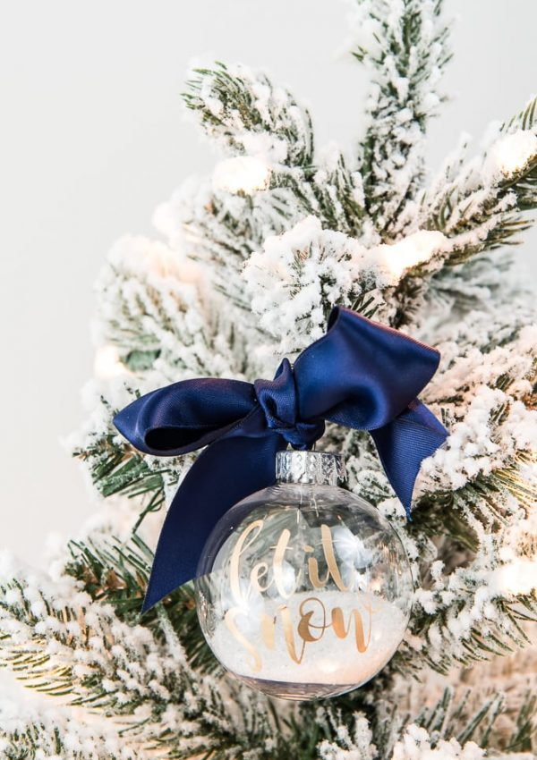 Easy Let It Snow Ornament