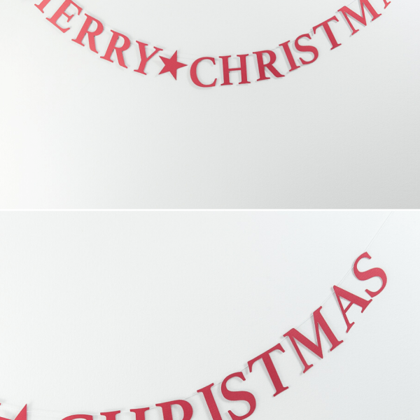merry christmas banner christmas cricut craft project