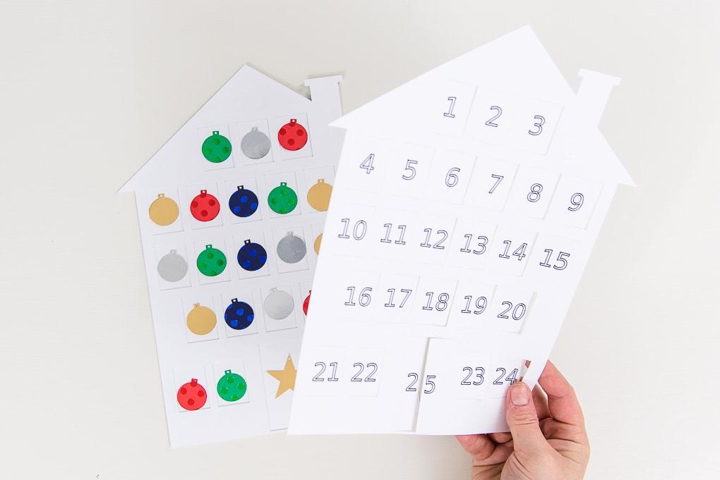 assembling the white house modern advent calendar top layer