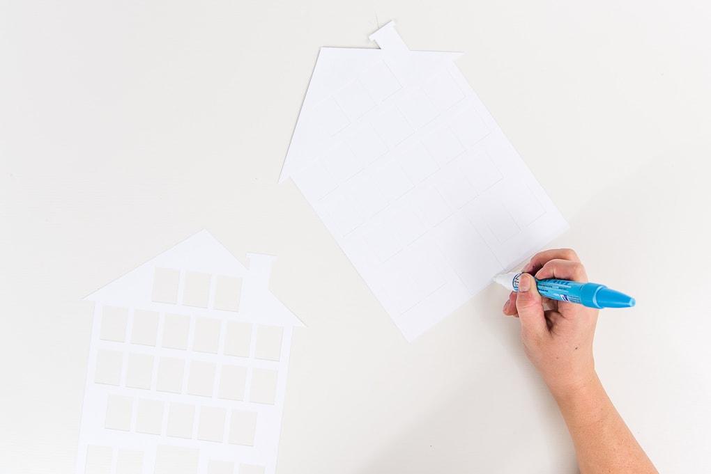 assembling the white house modern advent calendar
