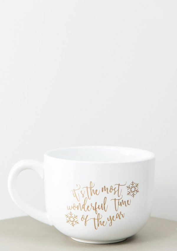 DIY Most Wonderful Time of the Year Mug