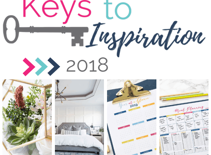 2018 year in review of the blog Keys to Inspiration