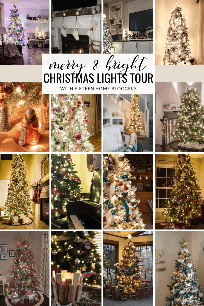 merry and bright Christmas nights tour 15 bloggers share their homes