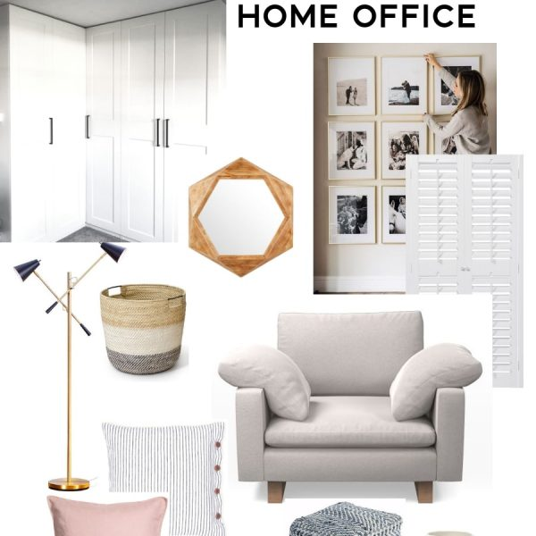 room design plan for a comfortable and organized creative home office