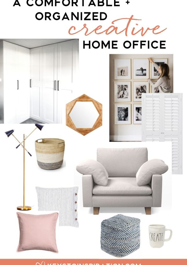 Planning a Comfortable and Organized Creative Home Office