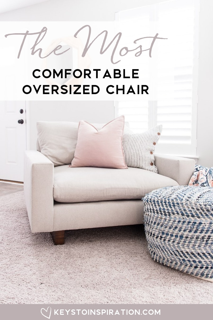 The Most Comfortable Oversized Chair » Christene Holder