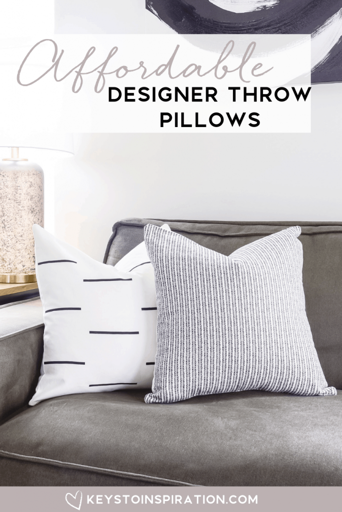 woven nook pillow covers in a modern home affordable throw pillows