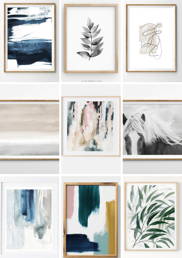 150+ Affordable Modern Art Prints for Your Home