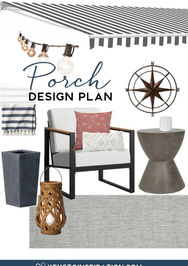 Our Small Outdoor Porch Design Plan