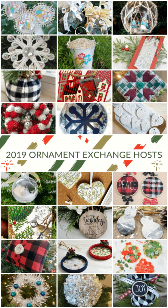 handmade Christmas ornament craft projects collage