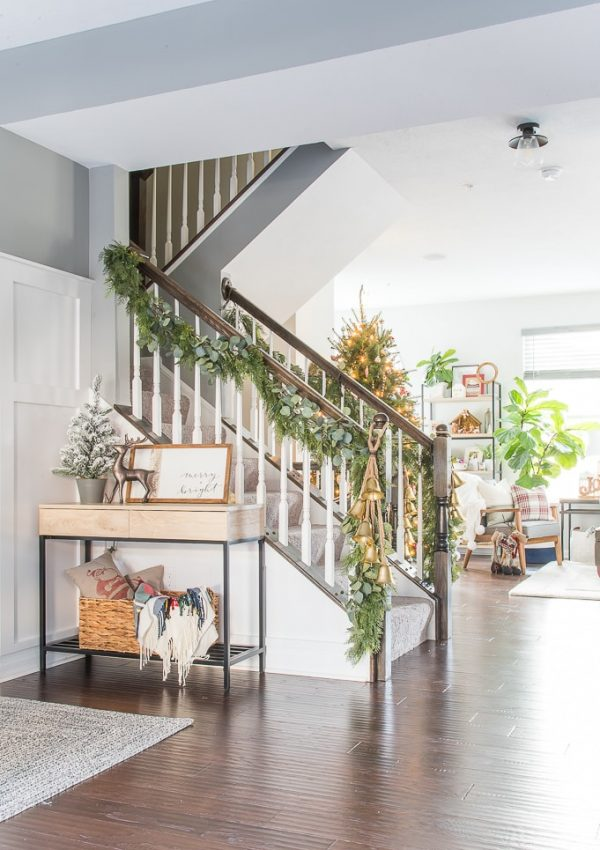 Our Modern Classic Christmas Home Tour