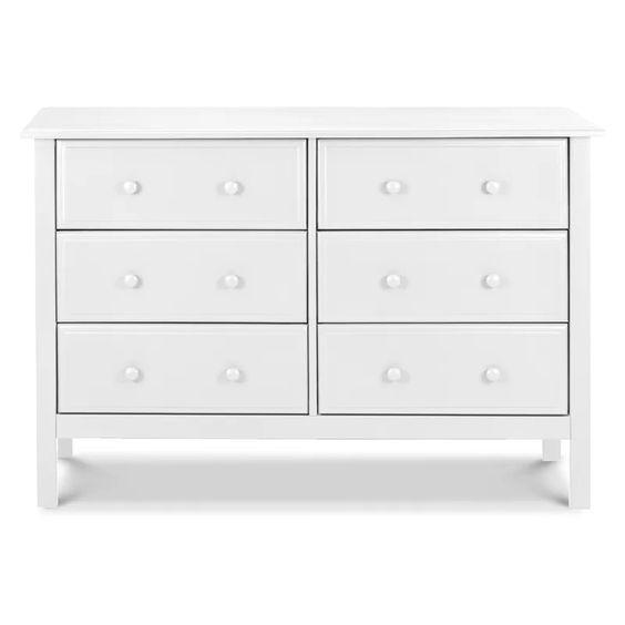 white dresser nursery