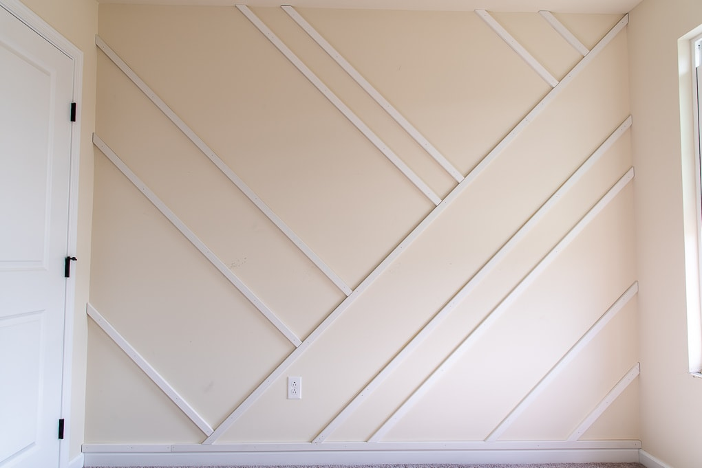 modern accent wall structure