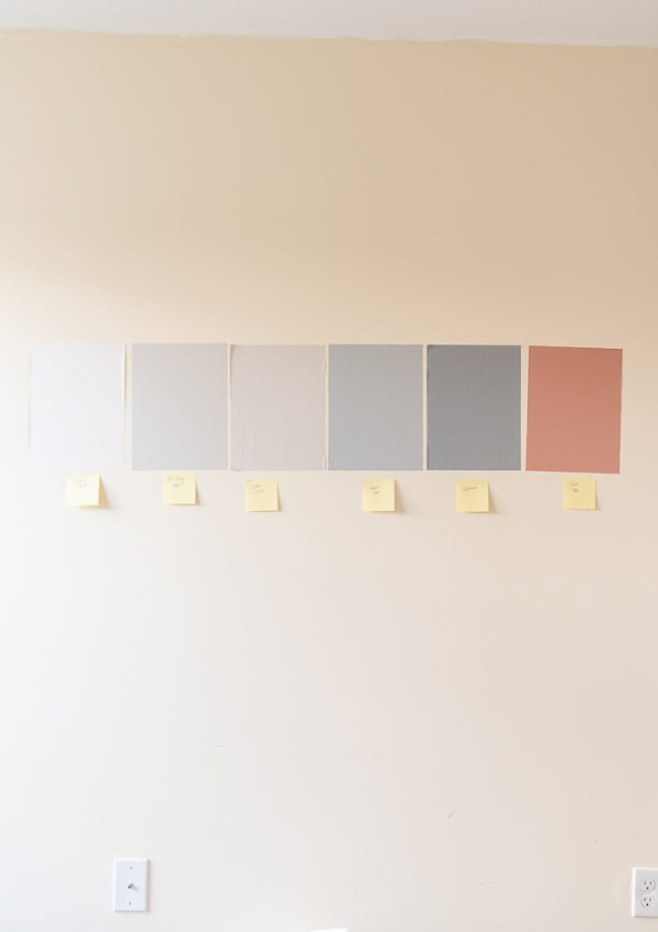 How to Test Paint Colors