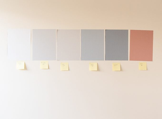 nursery design colorful painted sure swatch paint samples sheets