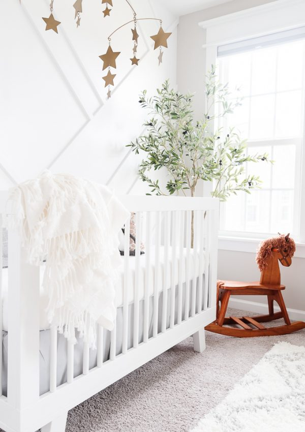 Neutral Feminine Nursery Reveal