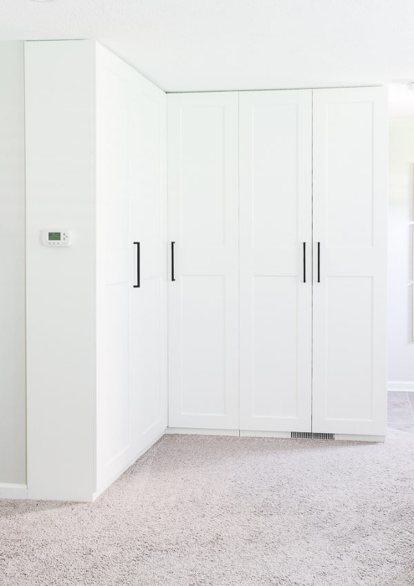 How to Create Extra Storage with the IKEA PAX System