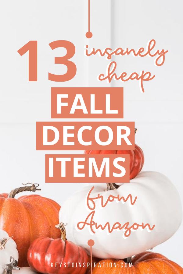 13 insanely cheap fall decor items from amazon