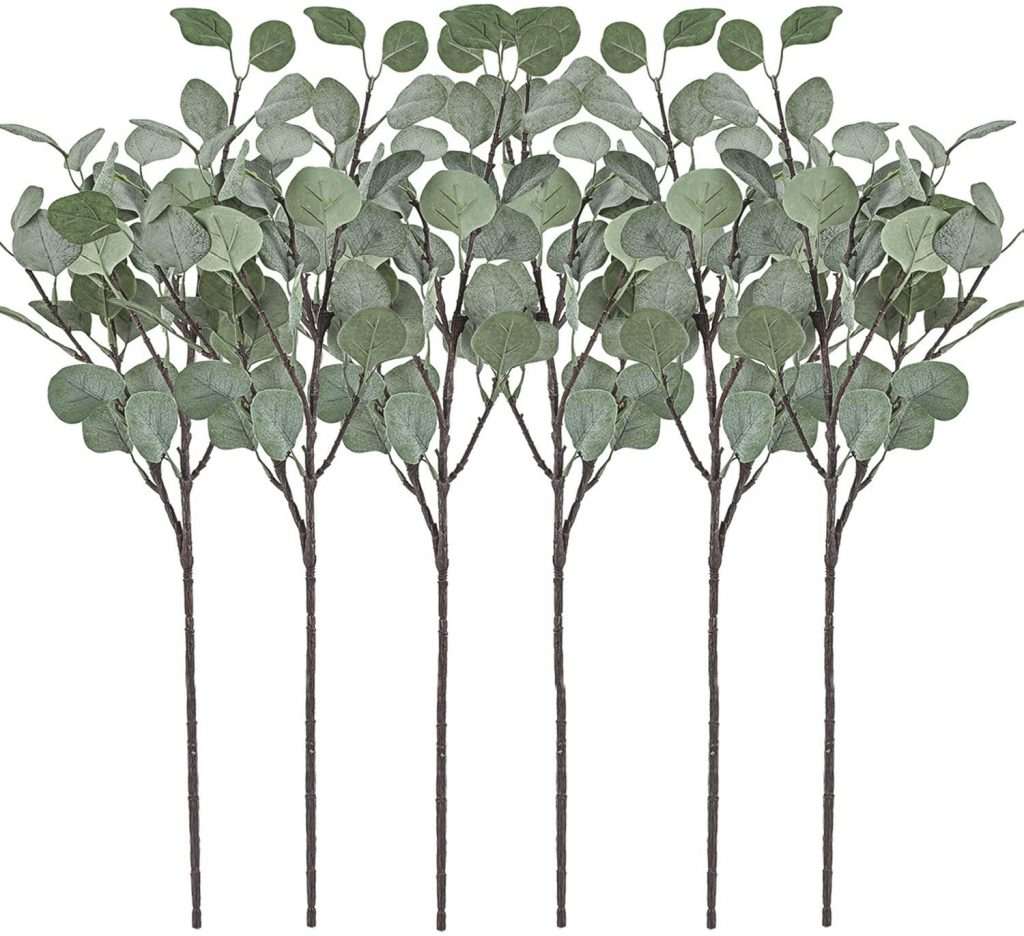 faux eucalyptus set