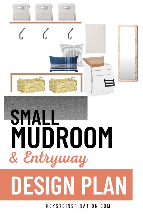 small mudroom and entryway design plan