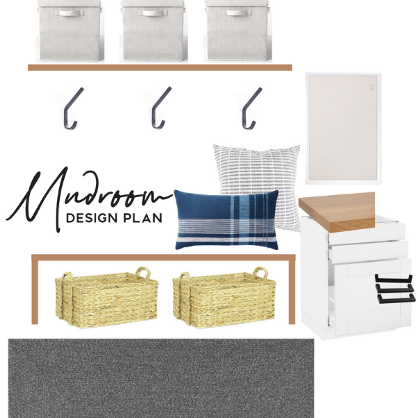 mudroom design plan mood board modern home