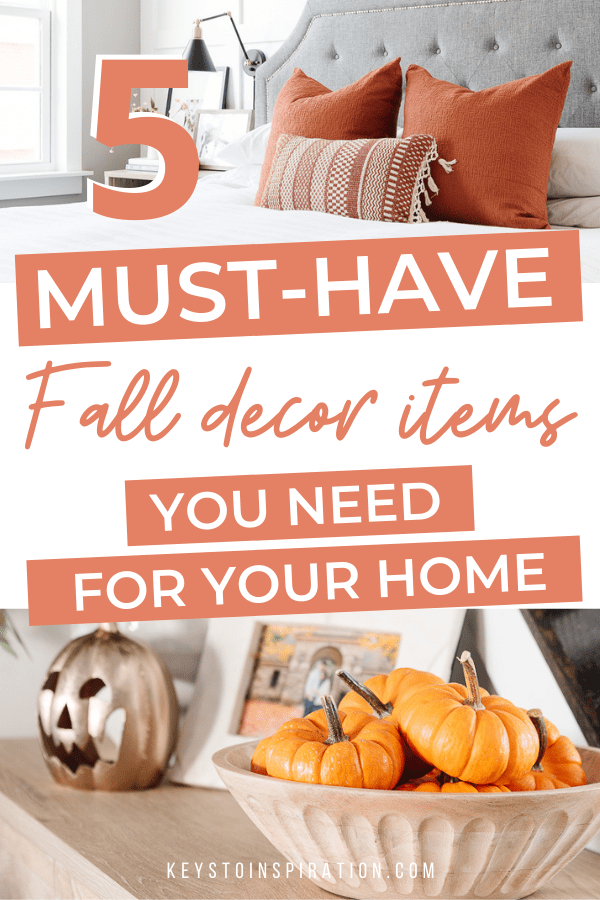 5 must have fall decor items you need for your home