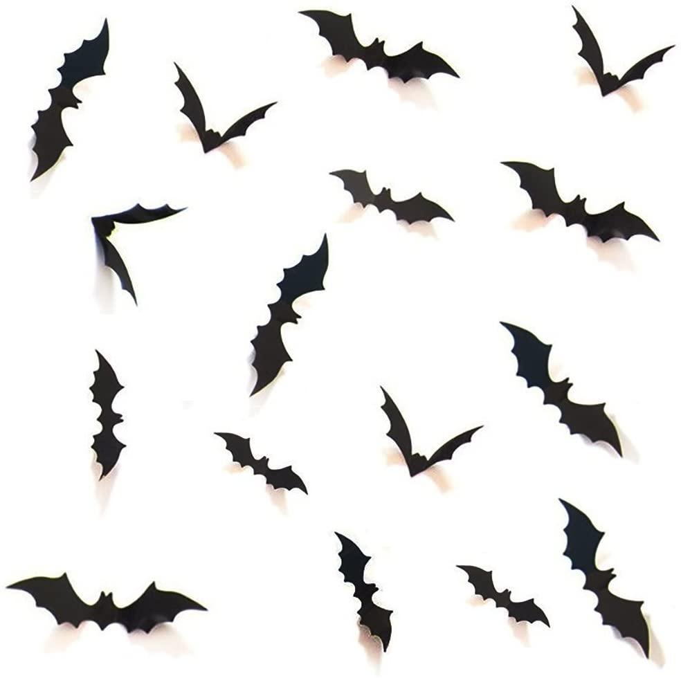 halloween bats wall decor