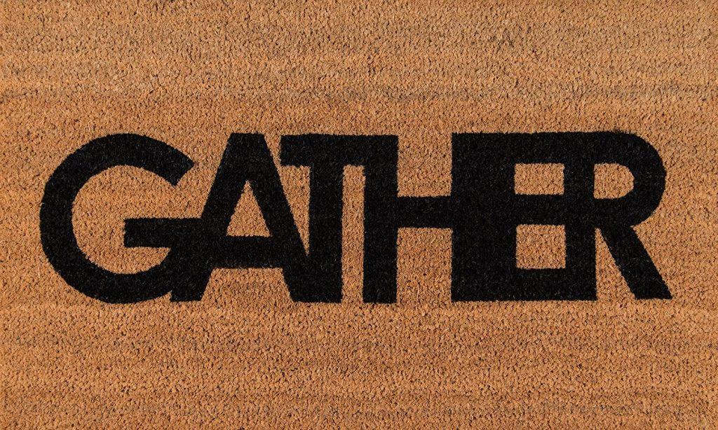 gather doormat