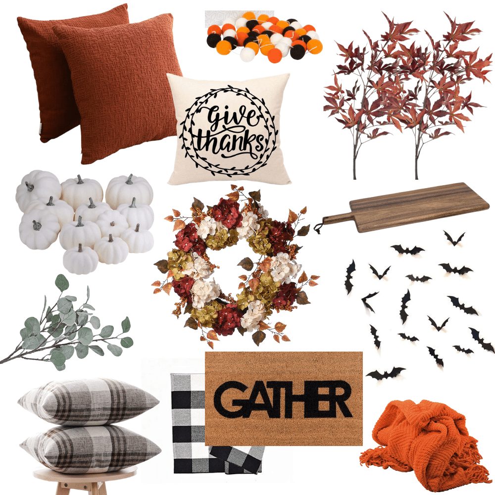 13 insanely cheap fall decor items from amazon collage