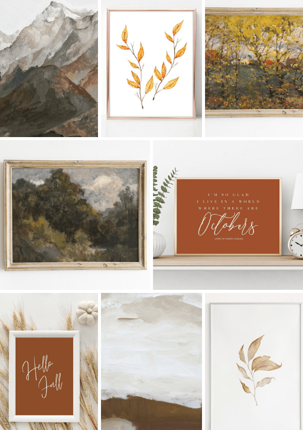 15 Insanely Pretty Fall Printables You Need For Your Decor