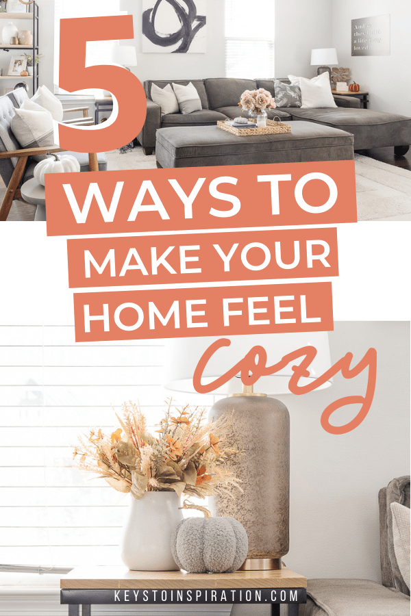5 ways to make your home feel insanely cozy this fall