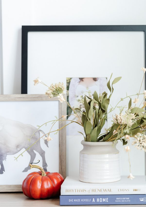 How to Decorate For Fall With What You Already Have