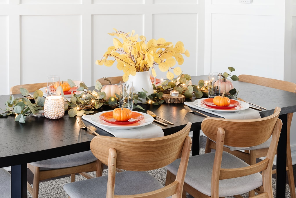 modern thanksgiving table decor easy and beautiful display