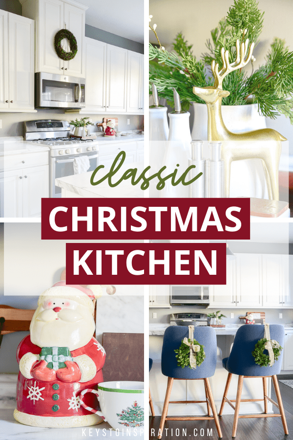 classic christmas kitchen